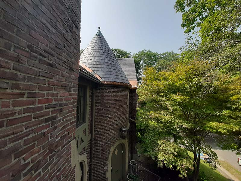 turrets roofing